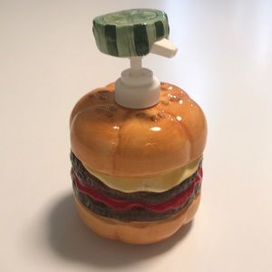 Hamburger condiment pump, Never been used